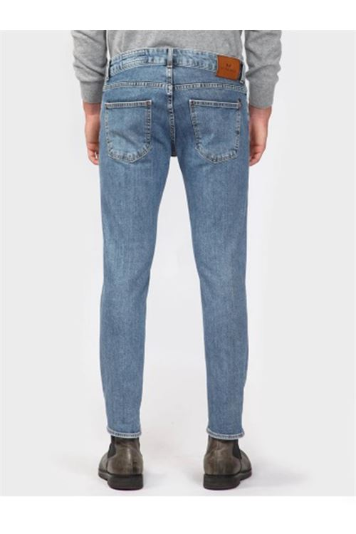 pantalone 5 tasche denim corto Entre Amis ENTRE AMIS | Jeans | 8177/206L6734039