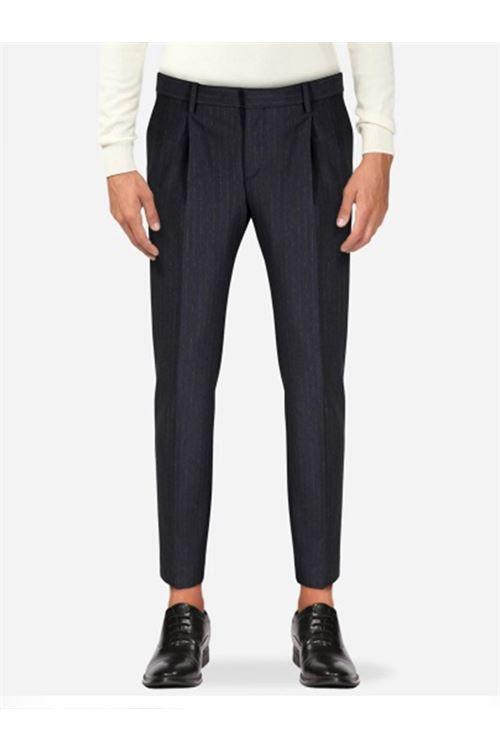 pantalone tasca america con pinces corto Entre Amis ENTRE AMIS | Pantalone | 8291/19833006