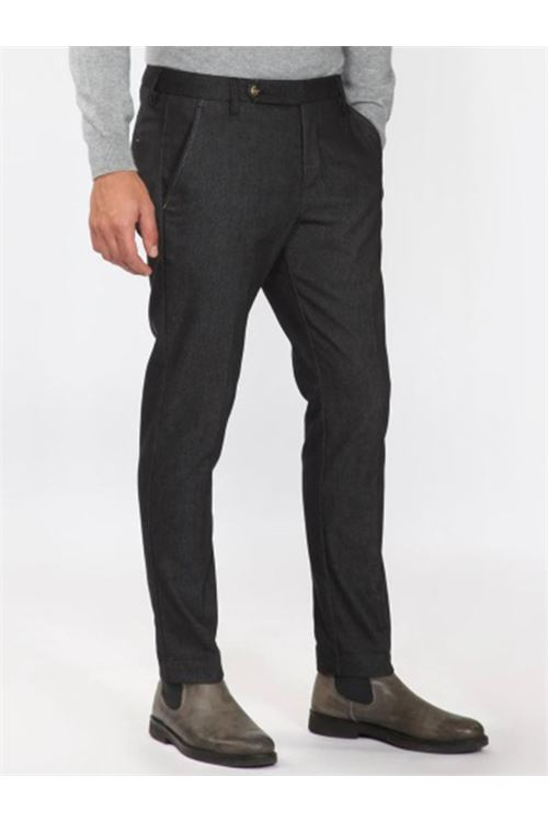 pantalone tasca america corto con cinturino lungo ENTRE AMIS | Pantalone | 8345/19962000