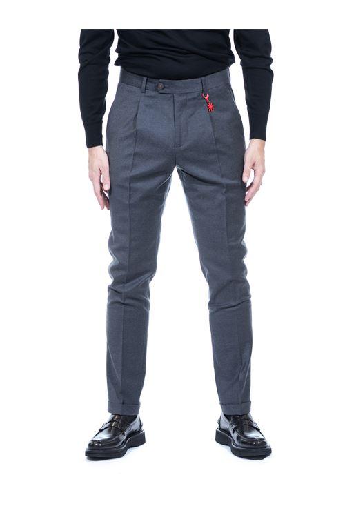 Pantalone con pinces MANUEL RITZ MANUEL RITZ | Pantalone | P1648/20050197