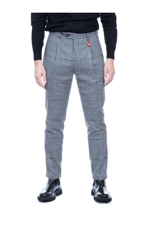 Pantalone in lana galles MANUEL RITZ | Pantalone | P1648/20356497