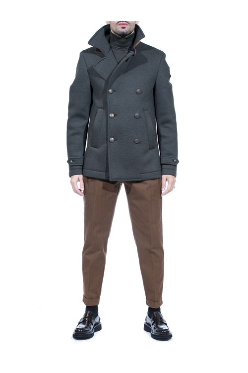 Pantalone con doppia pinces in cotone MANUEL RITZ MANUEL RITZ | Pantalone | P1668T/20387727