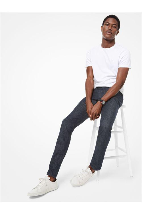 T-shirt a girocollo in cotone MICHAEL KORS | T-shirt | CB95FJ2C93001