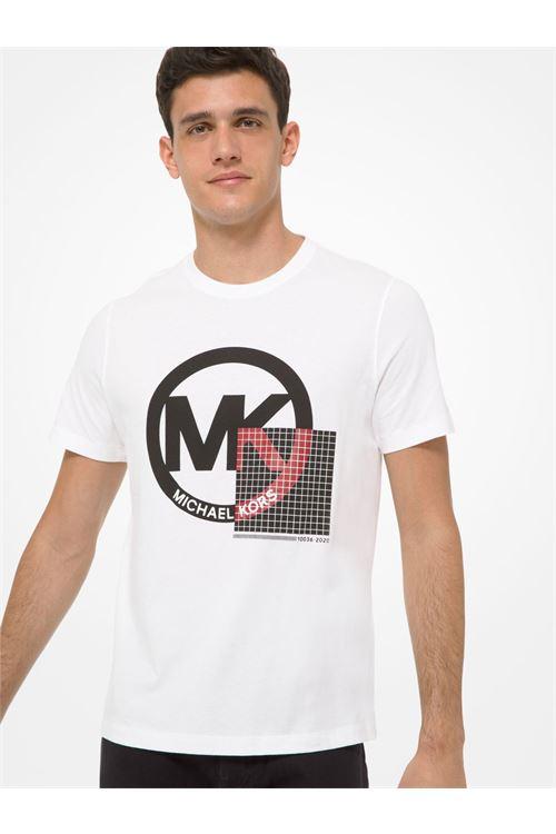 T-shirt in cotone con logo MICHAEL KORS | T-shirt | CF05JW4FV4100
