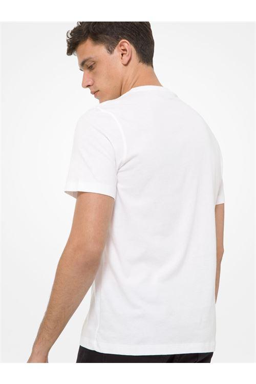 T-shirt in cotone con logo MICHAEL KORS   T-shirt   CF05JW4FV4100
