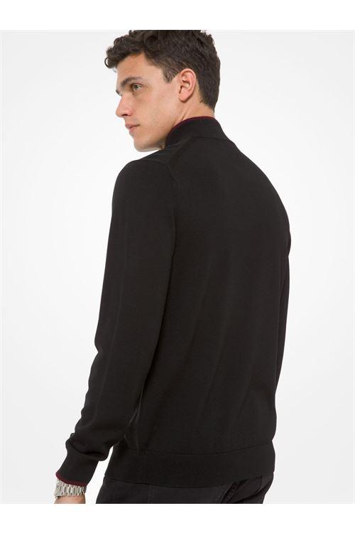 Pullover con mezza zip in lana merino MICHAEL KORS | Maglia | CF06L4P2DG001