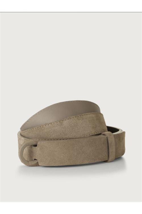 Cintura Nobuckle Suede in camoscio ORCIANI | Cintura | NB60 SUEDETAUPE