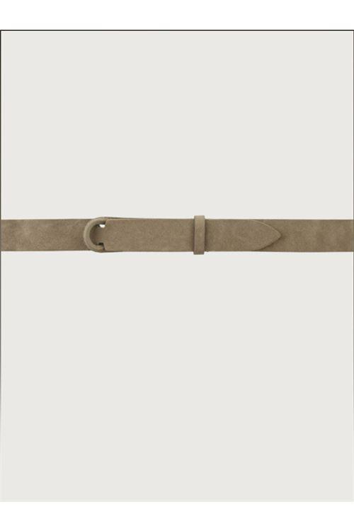 Cintura Nobuckle Suede in camoscio ORCIANI   Cintura   NB60 SUEDETAUPE