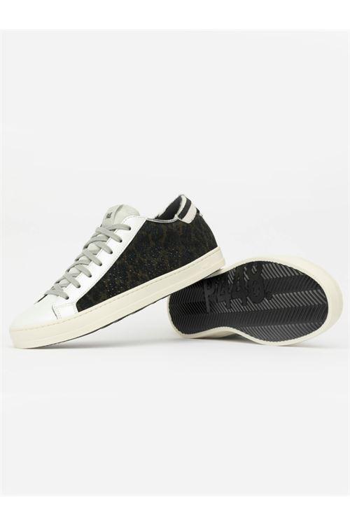 Sneaker modello John leo silver P448 P448   Scarpe   F20JOHNBS-WLEO/SILGLT