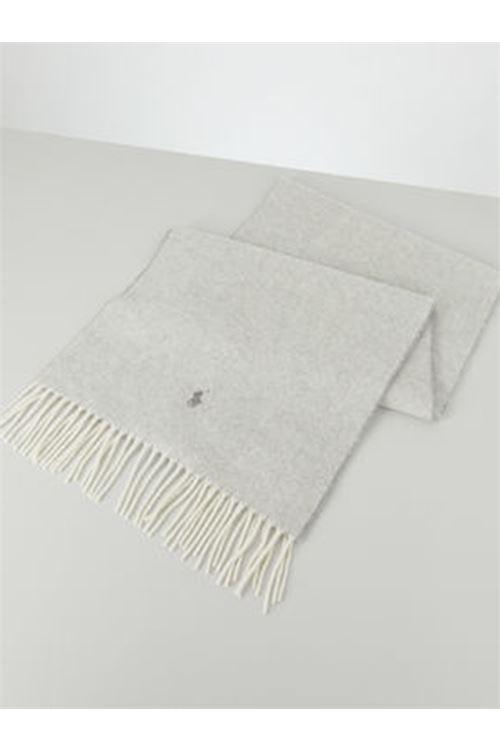 Sciarpa in lana con frange RALPH LAUREN | Sciarpa | 455/731047003
