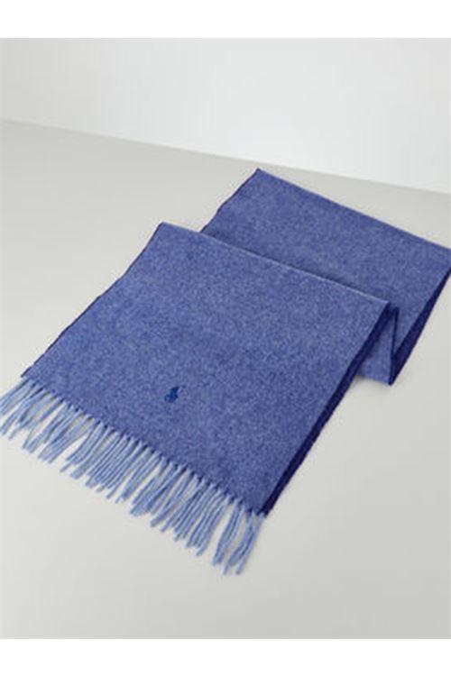 Sciarpa in lana con frange RALPH LAUREN | Sciarpa | 455/823288003
