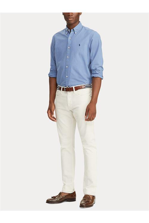 Camicia in popeline Slim-Fit RALPH LAUREN | Camicia | 710/815557002