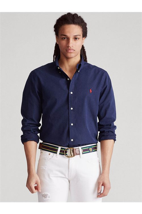 Camicia in popeline Slim-Fit RALPH LAUREN | Camicia | 710/815557003