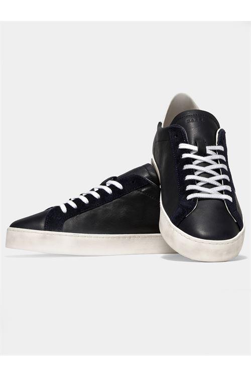 HILL LOW CALF BLUE D.A.T.E. | Sneakers | M351-HL-CABL