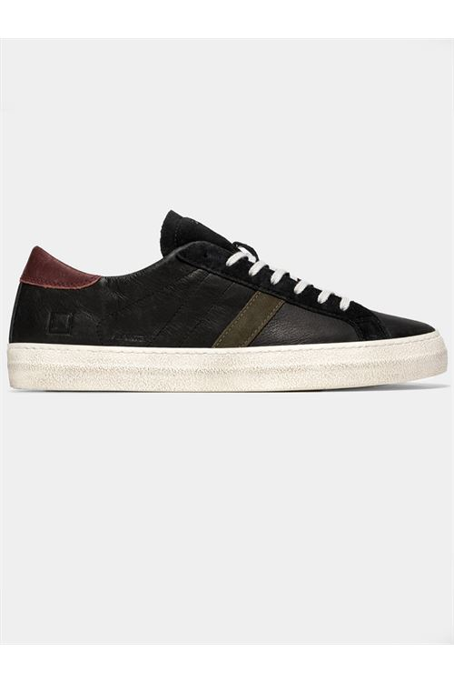 HILL LOW VINTAGE CALF BLACK-ARMY D.A.T.E. | Sneakers | M351-HL-VCBA