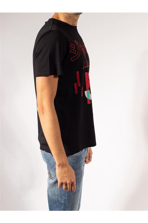 T-SHIRT CON STAMPA JAPAN JUST CAVALLI | T-shirt | S03GC0640-N20663900