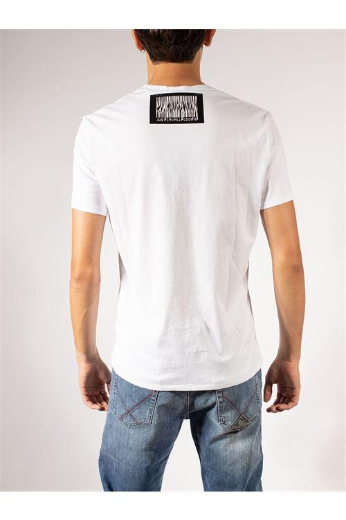 T-SHIRT CON STAMPA JUST CAVALLI | T-shirt | S03GC0643-N20663100