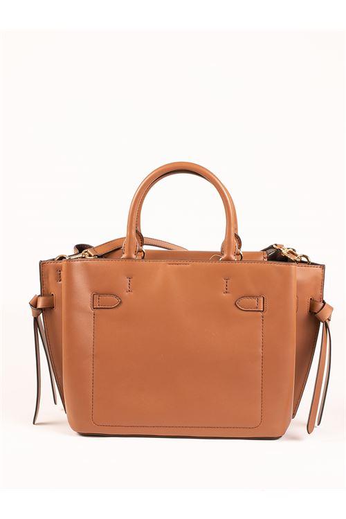hamilton lg belted satchel MICHAEL KORS | Borsa | 30F1GHMS3L230