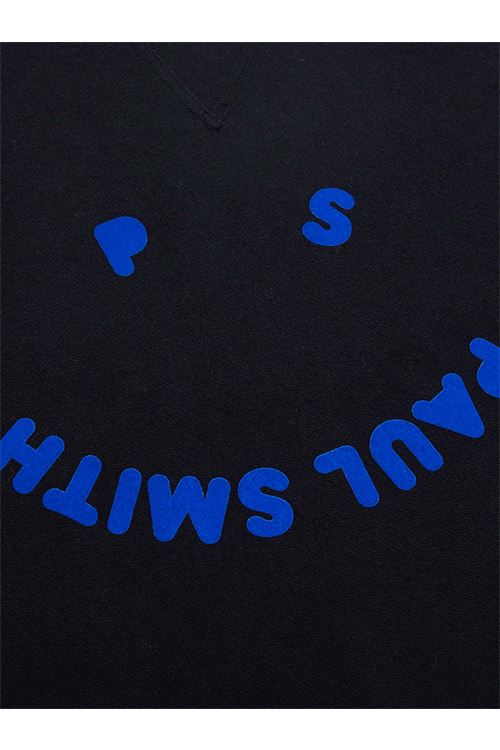 Maglione Happy in misto cotone nero da uomo PAUL SMITH | Maglia | M2R-845U-G2139279