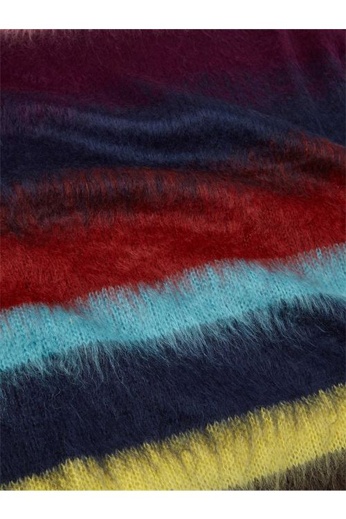 Maglione da uomo in misto mohair a righe multi-ombre PAUL SMITH | Maglia | M2R-856U-G2139849