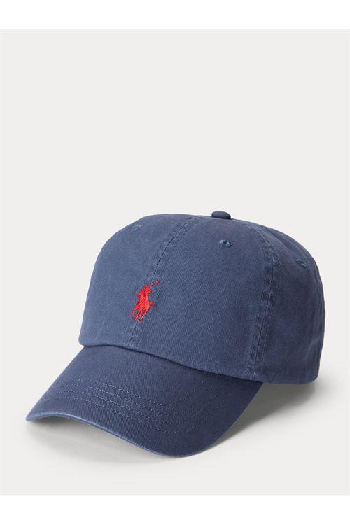 Cappellino in piqué di cotone RALPH LAUREN | Berretto | 710-667709063
