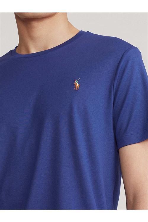 T-shirt in morbido cotone con vestibilità slim RALPH LAUREN | T-shirt | 710-740727013
