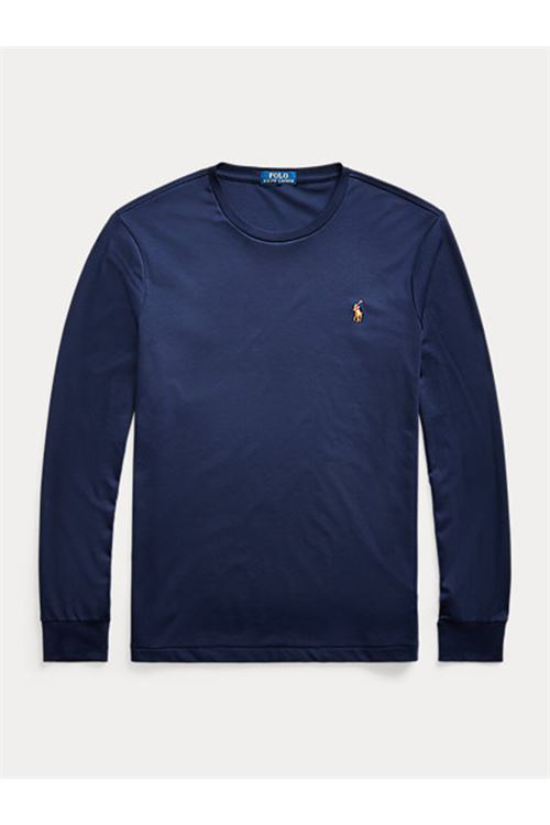 Maglietta in cotone Slim-Fit RALPH LAUREN | T-shirt | 710-760121003