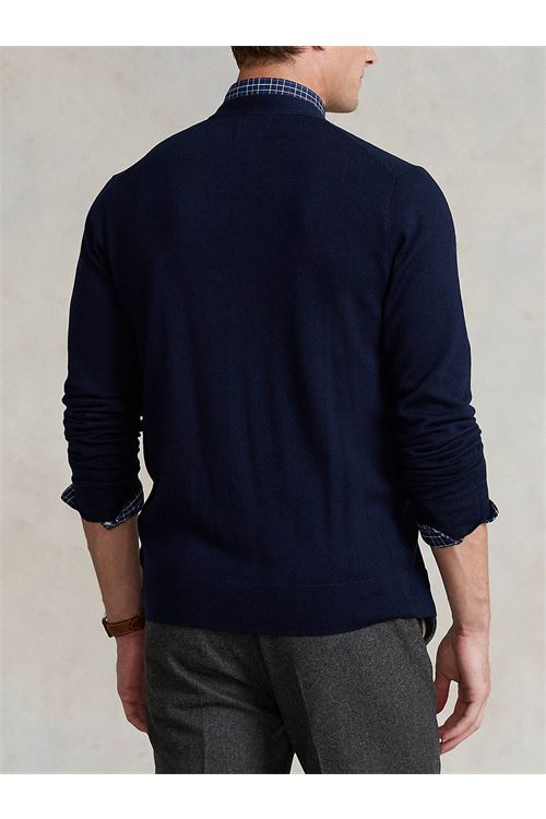 Cardigan in lana lavabile Slim-Fit RALPH LAUREN | Maglia | 710-763372002