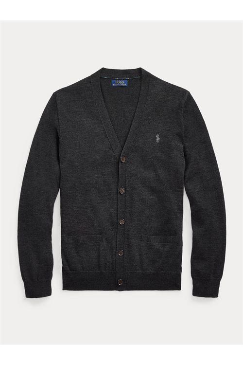 Cardigan in lana lavabile Slim-Fit RALPH LAUREN | Maglia | 710-763372004