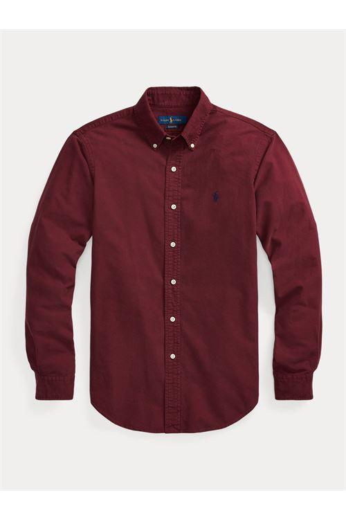 Camicia Oxford tinta in capo Slim-Fit RALPH LAUREN | Camicia | 710-804257002