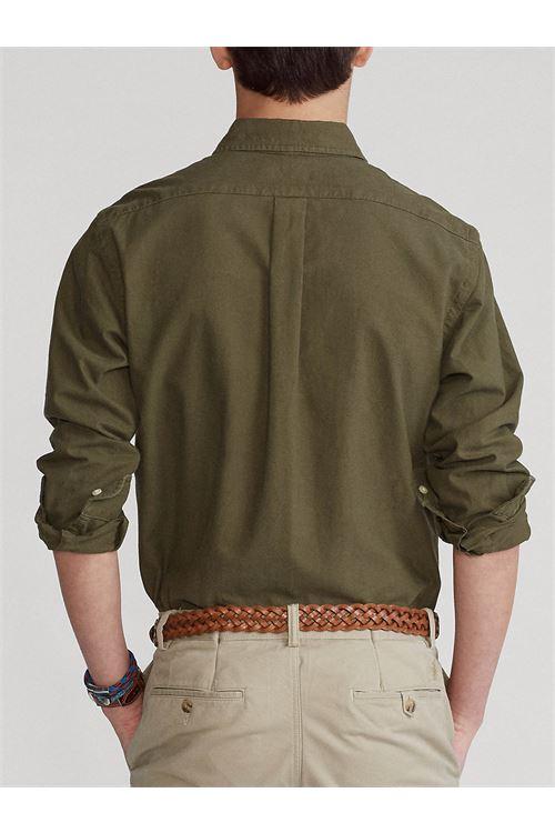 Camicia Oxford tinta in capo Slim-Fit RALPH LAUREN | Camicia | 710-804257006