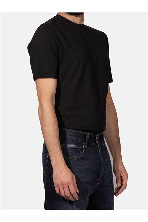 T-SHIRT IN COTONE STRETCH ALPHA STUDIO | T-shirt | AU 4480/C1270