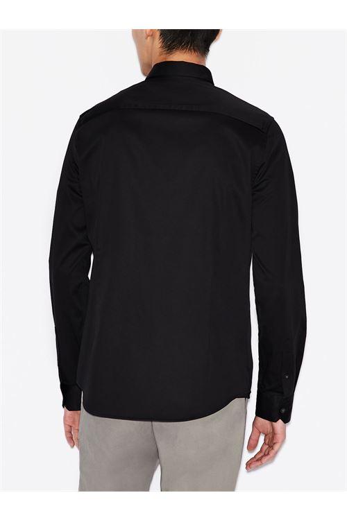 Camicia slim fit in cotone elasticizzato ARMANI EXCHANGE | Camicia | 8NZCBD/ZN10Z1200