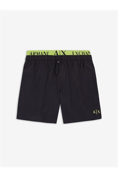 boxer mare doppia fascia ARMANI EXCHANGE | Costume | 953020/1P64100020