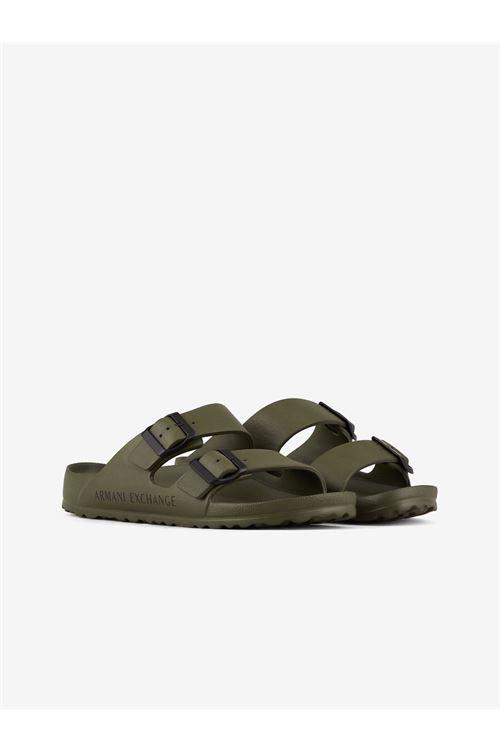 Sandali con fasce regolabili ARMANI EXCHANGE | Sandalo | XUP006/XV292K535