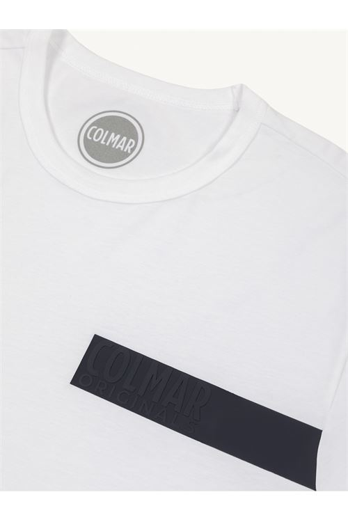 T-SHIRT GIROCOLLO CON SCRITTA TRANSFER COLMAR | T-shirt | 7561R-6SH01