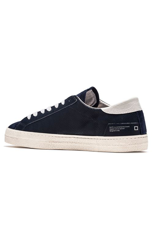 HILL LOW VINTAGE PERFORATED BLUE D.A.T.E. | Scarpe | M321-HL-VPBL
