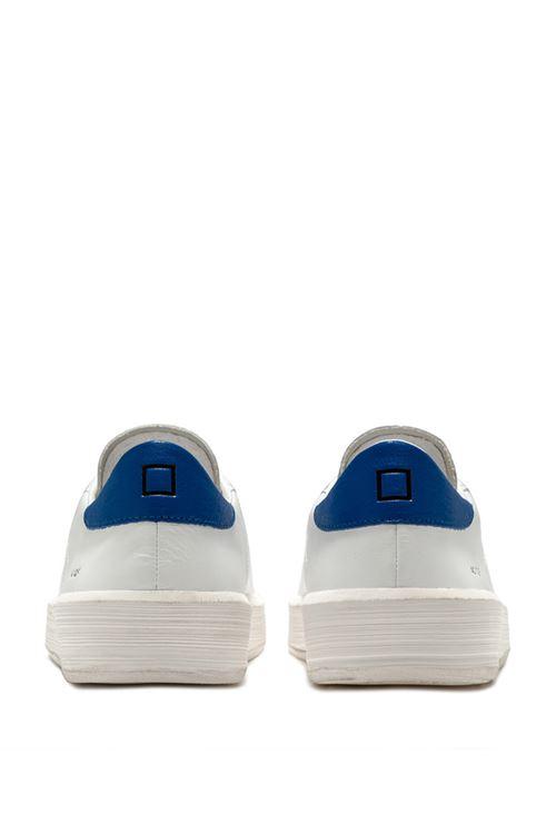 ACE CALF WHITE-BLUETTE D.A.T.E. | Scarpe | M341-AC-CAWE