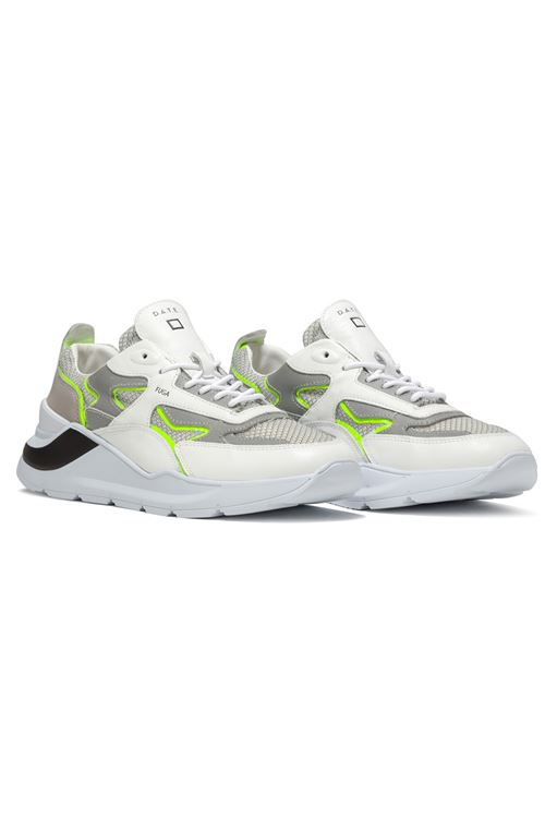 FUGA FLASH WHITE-YELLOW D.A.T.E. | Scarpe | M341-FG-FHWY