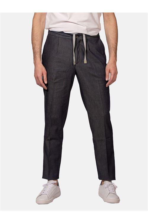 pantalone con lacci DEVORE | Pantalone | DVR114-J4003LVME