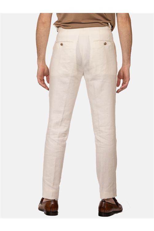 pantalone con doppia pinces G.T.A. | Pantalone | HERRICK010