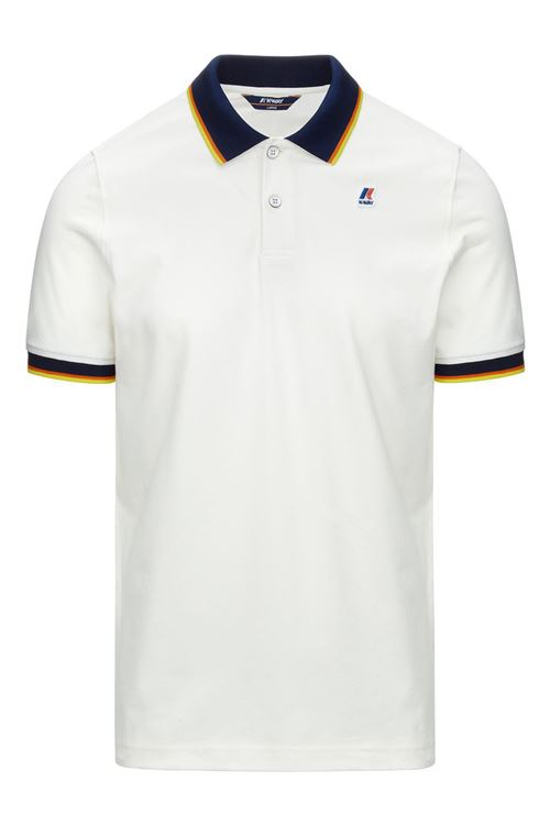 VINCENT TOTAL CONTRAST STRETCH K-WAY | Polo | K111NXWXRE