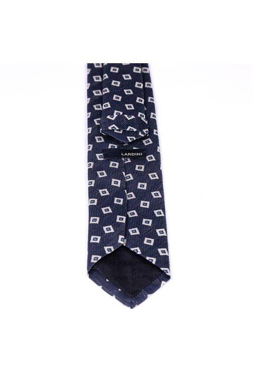 Cravatta con micro quadro LARDINI | Cravatta | ELCRC7/EL56115830