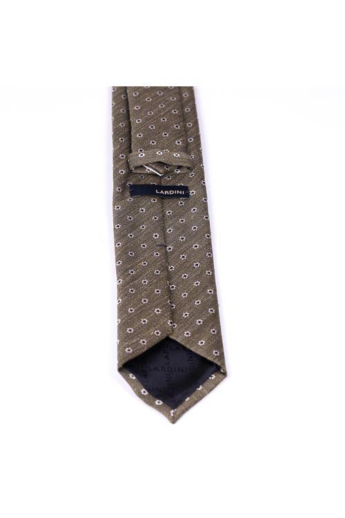 Cravatta con micro fiore LARDINI | Cravatta | ELCRC7/EL56146500