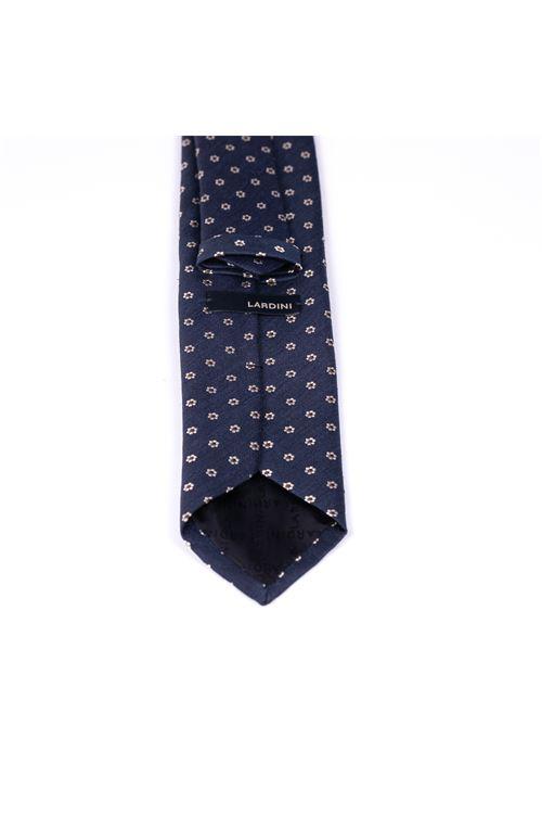 Cravatta con micro fiore LARDINI | Cravatta | ELCRC7/EL56146850