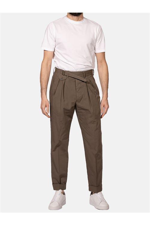 Pantalone in cotone stretch LARDINI | Pantalone | ELLUXOR5W/EL56087420C