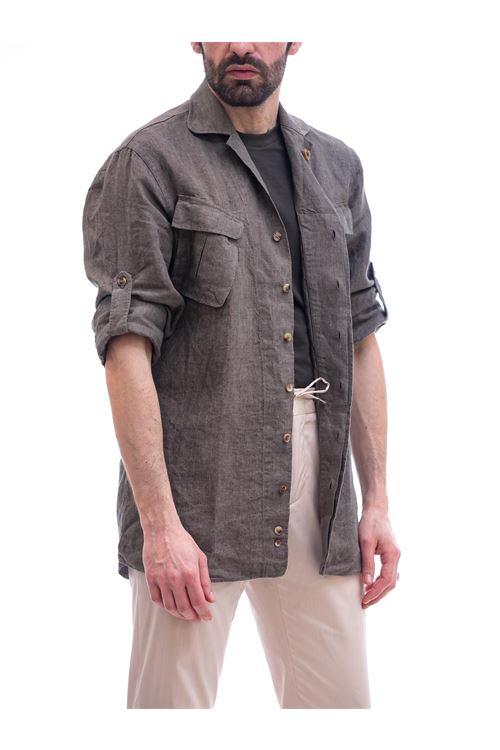 Camicia aviatore LARDINI | Camicia | ELNICO/ELC1388500