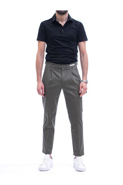 Pantalone con pinces e cinturino PAOLONI | Pantalone | P108-21000237