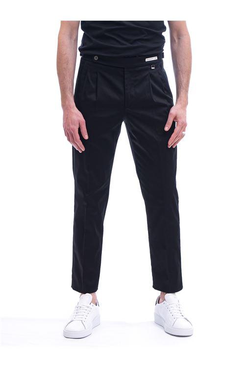 Pantalone con pinces e cinturino PAOLONI | Pantalone | P108-21000299