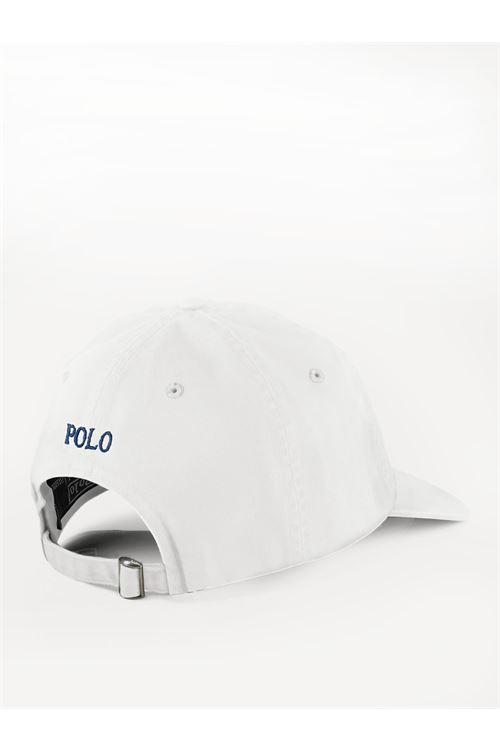 Cappellino in piqué di cotone RALPH LAUREN | Berretto | 710-548524001